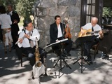 jazz reception music at the Ahwahnee hotel