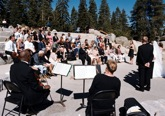 wedding ceremony music in Yosemite